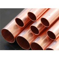 Length 1-12m Copper And Aluminum Pancake Air Conditioner Copper Tube Corrosion Resistance for sale