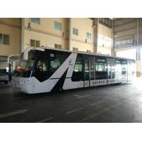 Quality Aluminium Body 14 Seat 112 passengers capacity airport apron bus for sale