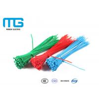 Quality Wiring Accessories Nylon Cable Ties Heat Resistance 60mm - 1200mm Total Length for sale
