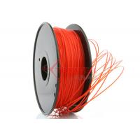 Quality 3D Printer 3mm PLA Filament Red  High Stiffness 1kg Spool for sale