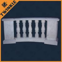 Quality Indoor concrete railings stone marble balustrade granite inox blausters for sale
