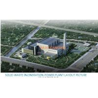 Quality MSW Household Schools Trash Burning Waste To Energy Incineration Plant for sale