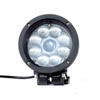 Quality Black Color Spot / Flood Beam LED Vehicle Work Light with 5.5 Inch 45w 12v High Intensity CREE Chips for sale