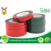 Strong Viscosity PE Foam Material Double Side Tape For Home Decoration / Automobile Emblem for sale