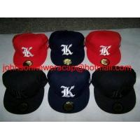 Quality Custom Make Flat Brim 5950 Hats for sale