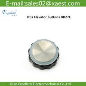 Quality Lift accessories | elevator buttons | West Otis Button | OTIS | radio button | BR27C | for sale