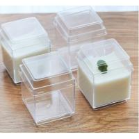China disposable plastic dessert cup with lid,plastic dessert containers,food grade plastic for sale