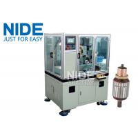 Quality Servo double cutter cnc armature Commutator Turning Machine lathe for sale