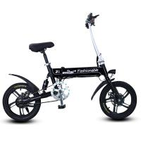 Quality 16 Inches Z1 Folding Electric Bike , Super Light Fold Up Electric Bike PP Material for sale