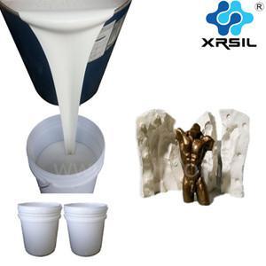 China RTV liquid silicone , liquid silicone rubber , silicon liquid , silicone RTV rubber for decorative mould making on sale