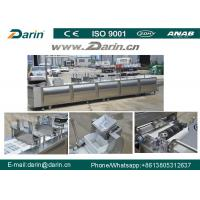 China Healthy Nutritional Vegetarian Cereal Bar Making Machine with Siemens PLC & Touch Screen on sale