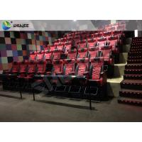 Quality Playground Center 4D Local Movie Theaters Electric System With Blue Movement Chairs for sale