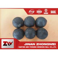 Quality No Breakage Grinding Steel Balls for mining and Cement / steel mill media for sale