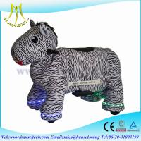 Quality Hansel coin operated kids ride machine animal riding toy for shoppingmall for sale