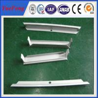 Quality Good quality sand blasting and anodized solar frames, aluminum frame for solar panel for sale