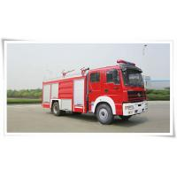 Quality Steyr single bridge 1600 gallon water tank fire truck for sale
