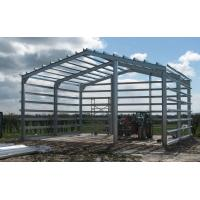 Quality H Section Lightweight Steel Frame Building  Fire Proof For Column / Beam for sale