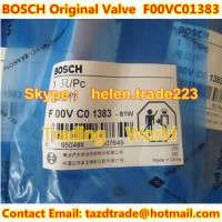 Quality BOSCH original Control Valve F00VC01383 fit 0445110376 common rail injector for sale