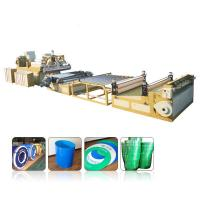 Quality Multilayer PP PE PC ABS Pvc Sheet Extrusion Line0.2mm-12mm Thickness Range for sale