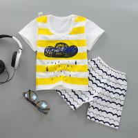 Buy 2019 Spring Newborn Baby Boy Outfits / Baby Boy Casual Wear With Pattern at wholesale prices