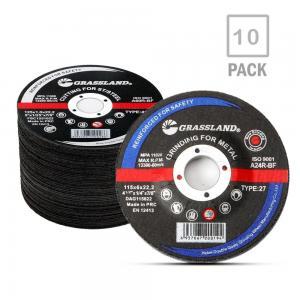 Quality Angle Grinder Inox EN 12413 115mm Metal Grinding Discs for sale