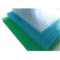 Quality Colored Twinwall  Polycarbonate Sheet Construction Building Materials for sale
