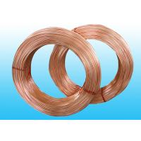 Copper Coated Bundy Tube , Good Plasticity Single Wall 6mm X 0.5 mm for sale