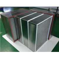Quality Washable Small High Temperature Air Filter , High Air Flow Air Filter for sale