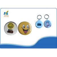 Quality Metal Custom Pin Buttons Making Materials for sale