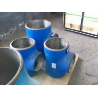 Quality High-pressured anti-corrosion composite cs and ss steel Elbow tee fittings for sale