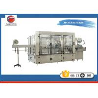 Buy Aseptic Automatic Liquid Filling Machine 11KW , Sparkling Drinks Liquid Filling Line at wholesale prices