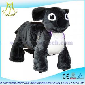 Quality Hansel battery motorized animals ride ufo catcher plush motorized animals for sale