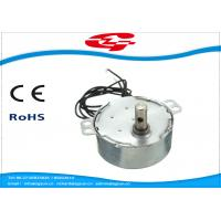 Quality 1.5RPM Home Ac Electric Motor , Silver Color Synchronous Ac Motor 49TYD Low Noise for sale