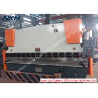 China 63T Pressure Hydraulic Press Brake Machine Manufacturers 3200mm Length on sale