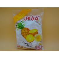 Quality Pineapple Flavor Original Fresh Soft Milk Candy With Fruit Jelly Red Color for sale