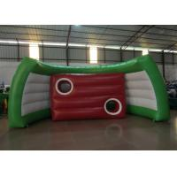 Quality Inflatable Football Gate Shooting Inflatable football game outdoor inflatable football simple game for sale