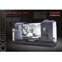 Quality 6 Tons Load CNC Horizontal Lathe Machine / CNC Lathe Machine With Guide Rail for sale