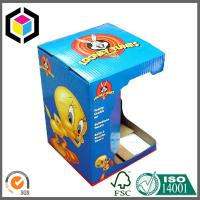 Quality Glossy Custom Color Print Open Window Paper Corrugated Toy Packaging Box for sale
