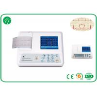 Quality Adjustable Parameters Single Channel Ecg Machine With 12 Leads Ni-Mh Battery for sale
