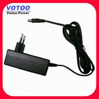 Quality AC 100 - 240V To DC 12V 2A Power Adapter For CCTV Camera 5.5mm x 2.5mm With EN60950-1 for sale