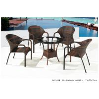 Quality 2014 pe rattan wicker coffee table chair outdoor sets for sale
