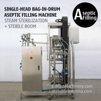 Quality Single-head 200 Litre Bag in Drum Fruit Puree Paste Aseptic Filler for sale