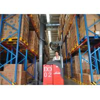 Quality Blue / Orange Double deep storage racking Systems 2000mm--12000mm Height for sale