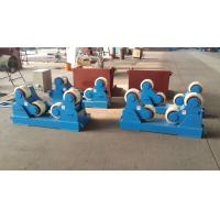 Buy Single Drive Self Adjustable Pipe Welding Rollers 20 Ton Pipe Rotators For Welding at wholesale prices
