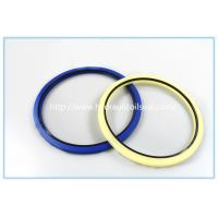 Quality Creamy White Polyurethane PU Hydraulic Rod Buffer Seal For Excavator / Bulldozer for sale