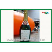 Quality Outdoor Advertising Inflatable Wine Bottle For Sale for sale