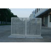 Quality Lightweight Road Traffic Barriers , Aluminum Temporary Pedestrian Barriers for sale
