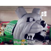 Quality Inflatable Bulldog Tunnel, Inflatable Animal Tunnel, Inflatable Mascot Dog Tunnel for sale