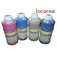 China Drying Fast Inkjet Printer Ink, Solvent Ink Cartridges Good Adhesion 4 Colors for sale