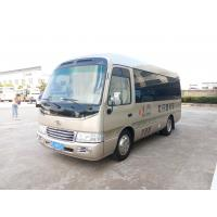 Buy cheap Front wheel drive bus 19 seats Medium Minibus 5500 Kg Gross Vehicle Weight from wholesalers